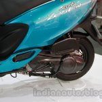 TVS Scooty Zest rear wheel live