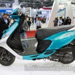 TVS Scooty Zest side profile live