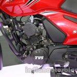 TVS Star City+ engine at Auto Expo 2014