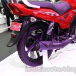 TVS Star City+ exhaust at Auto Expo 2014