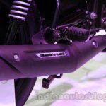 TVS Star City+ exhaust detail live