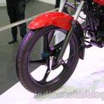 TVS Star City+ front wheel at Auto Expo 2014