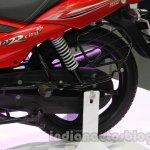 TVS Star City+ rear wheel at Auto Expo 2014