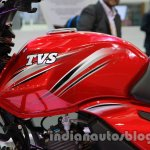 TVS Star City+ tank at Auto Expo 2014
