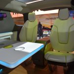 Tata ADD Venture Concept forward facing rear seats from Auto Expo 2014