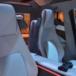 Tata ConnectNext Concept rear seats