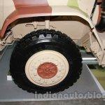Tata LAMV front wheel detail live