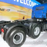 Tata LPS 4923 Lift Axle rear three quarters