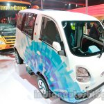 Tata Magic Iris Electric front three quarters