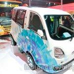 Tata Magic Iris Electric front three quarters