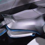 Tata Nexon Concept folded seat