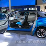 Tata Nexon side view doors ajar