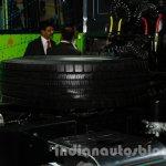 Tata Prima 4032.S LNG spare wheel
