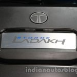 Tata Safari Storme Ladakh Concept rear registration plate enclosure