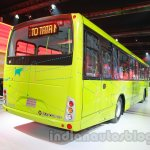 Tata Starbus Urban hybrid rear three quarters