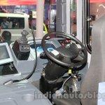 Tata Starbus Urban hybrid driver cockpit
