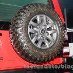 Tata Sumo Extreme spare wheel