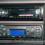 Tata Ultra 614 audio system at Auto Expo 2014