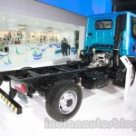 Tata Ultra 614 chassis rear three quarters at Auto Expo 2014
