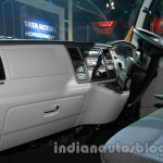 Tata Ultra 614 dashboard from passenger side at Auto Expo 2014