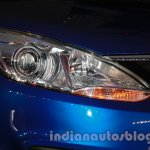 Tata Zest launch images headlight