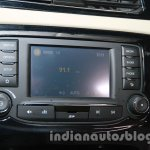 Tata Zest launch images infotainment display