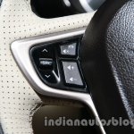 Tata Zest launch images steering buttons
