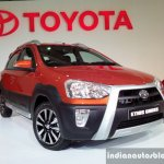 Toyota Etios Cross front three quarter live