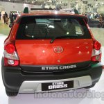 Toyota Etios Cross rear at Auto Expo 2014