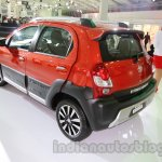 Toyota Etios Cross rear three quarters at Auto Expo 2014