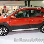 Toyota Etios Cross side view at Auto Expo 2014