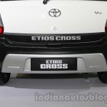 Toyota Etios Cross with accessories bumper with skid guard at Auto Expo 2014