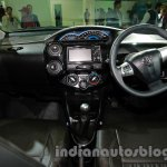 Toyota Etios Cross with accessories dashboard full view at Auto Expo 2014