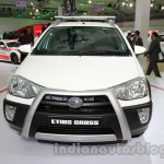 Toyota Etios Cross with accessories front at Auto Expo 2014