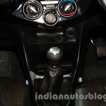 Toyota Etios Cross with accessories gear knob at Auto Expo 2014