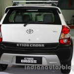 Toyota Etios Cross with accessories rear at Auto Expo 2014