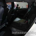 Toyota Etios Cross with accessories rear seat at Auto Expo 2014
