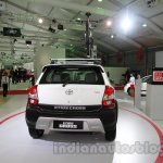 Toyota Etios Cross with accessories rear view at Auto Expo 2014