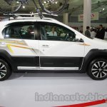 Toyota Etios Cross with accessories side at Auto Expo 2014