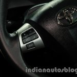 Toyota Etios Cross with accessories steering mounted controls at Auto Expo 2014