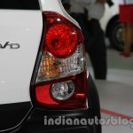 Toyota Etios Cross with accessories taillight at Auto Expo 2014