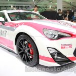 Toyota GT 86 Auto Expo front three quarter