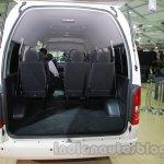 Toyota Hiace Auto Expo 2014 boot