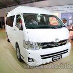 Toyota Hiace Auto Expo 2014 front quarter