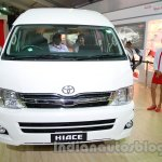 Toyota Hiace Auto Expo 2014 front