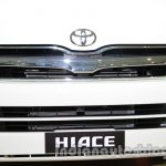 Toyota Hiace Auto Expo 2014 grille