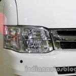 Toyota Hiace Auto Expo 2014 headlight