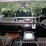 Toyota Hiace Auto Expo 2014 interior