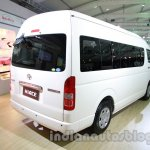 Toyota Hiace Auto Expo 2014 rear quarter