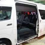 Toyota Hiace Auto Expo 2014 sliding door
